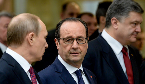Hollande: 'Coming hours' crucial for Ukraine deal