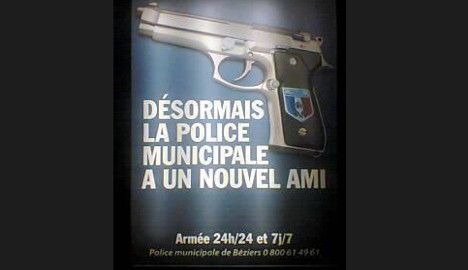 Gun ads see French cops compared to Dirty Harry