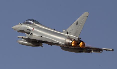 Italian jets stop Russian warplane over Baltic