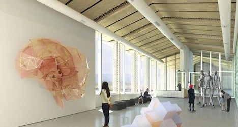 EPFL combines art and science 'under one roof'
