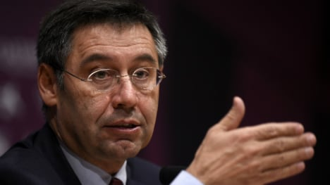 President of Barça charged with tax fraud