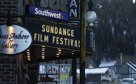 Scandinavian couple pick up Sundance gong
