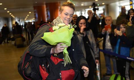 Swedish Syria prisoner is back on home soil