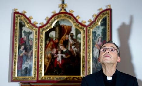 German 'Bling Bishop' lands new Vatican job