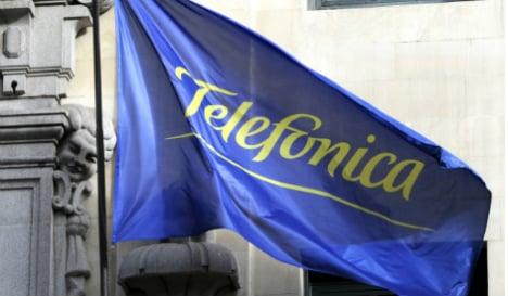 Telefonica profits plummet a third in 2014