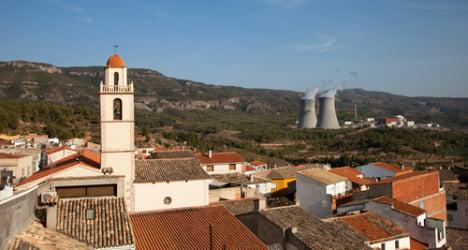 Nuclear reactor shut down after blackout