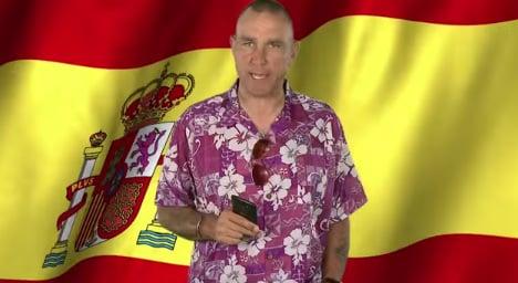 Vinnie Jones teaches Spanish in hilarious ad