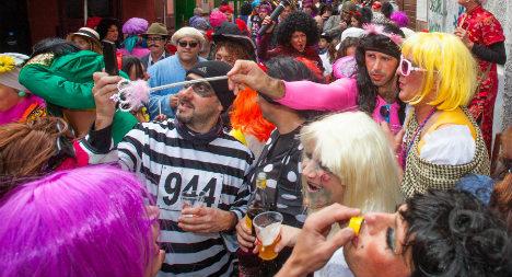 Spanish politician wears SS uniform to carnival