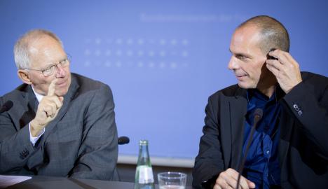 Schäuble 'very sceptical' of quick Greece deal