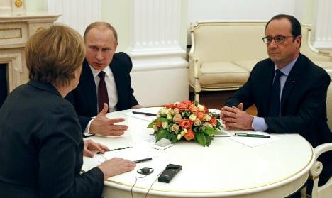 Ukraine talks 'constructive': France