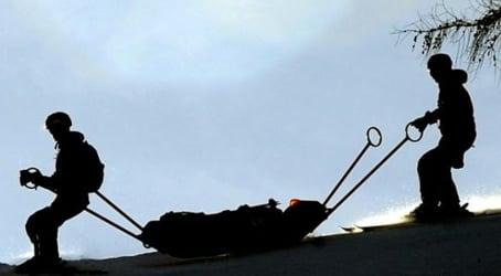 Men abandon boy after fall from ski lift