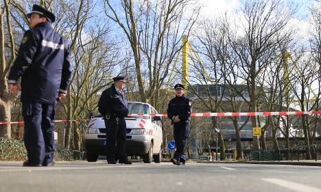 Bomb scare at Dortmund football stadium