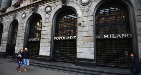 Italy drawing up 'bad bank' plan: report