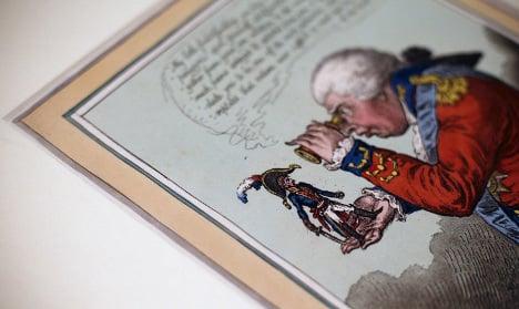 Napoleon skewered in new British exhibition