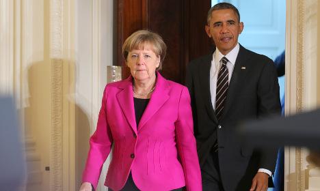 Merkel warns US of threat to peace in Europe