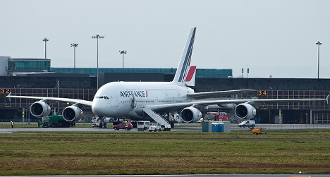 Air France flight diverts to UK so pilot can 'rest'