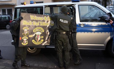 Police raid biker club houses across Germany