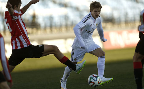 Norway prodigy left off Real Madrid squad