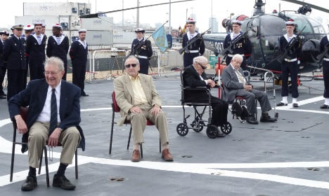 US WWII vets awarded top French honour