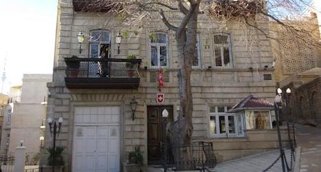 Azerbaijani rights activist hides in Swiss embassy