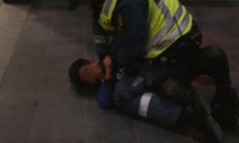 Huge hunt for boy 'beaten' at Malmö station