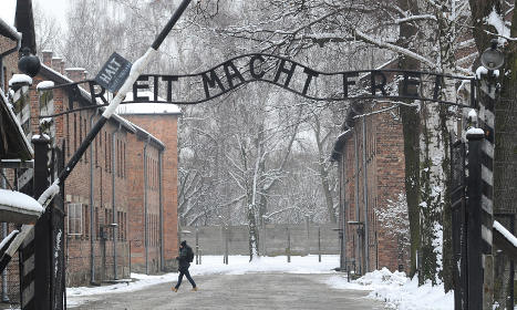 Swedish language class teacher in Holocaust row