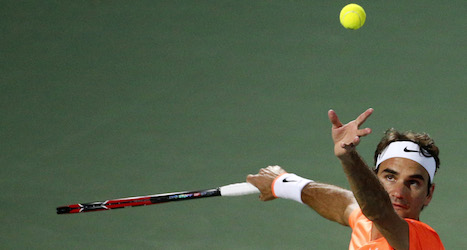 Federer rebounds to make Dubai quarterfinals