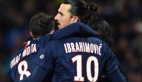 Ibrahimovic rescues PSG against leaders Lyon