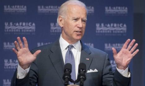 'No military solution to Ukraine' says Biden
