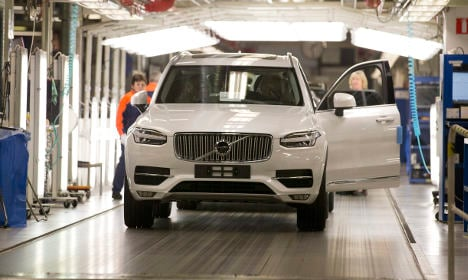 Sweden's Volvo to build first car factory in US