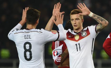 Germany grab vital win in Georgia