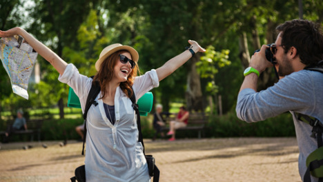 Tourists flock to Spain in record-breaking numbers