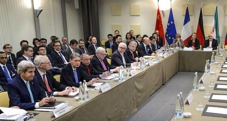 Lausanne talks aim to set Iran's nuclear future