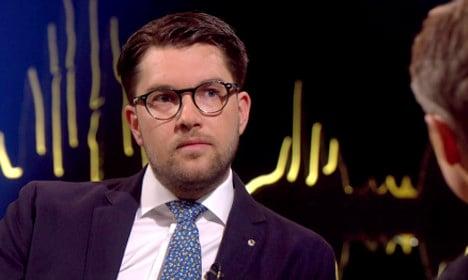 Swedish talk show in Åkesson storm