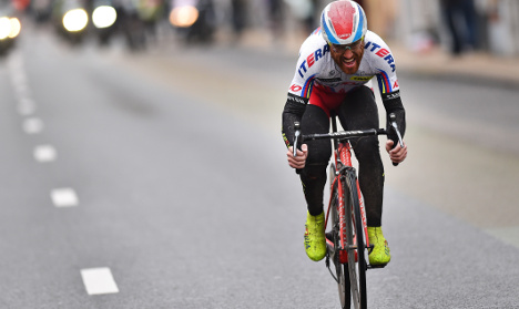 Italian veteran Paolini wins Gent-Wevelgem