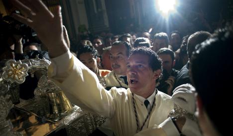 Antonio Banderas stars in Málaga Holy Week