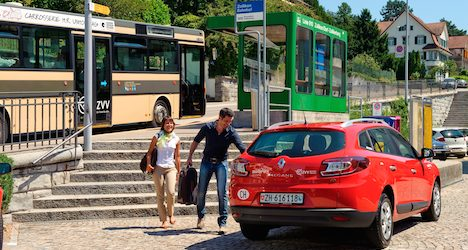 Young urban Swiss catch the car-sharing bug