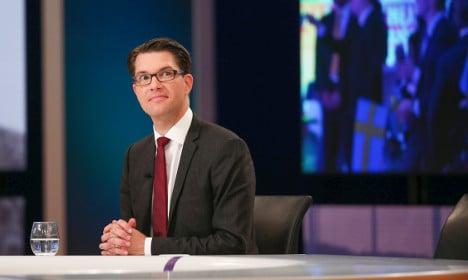 Sweden Democrat head: 'I'm on antidepressants'