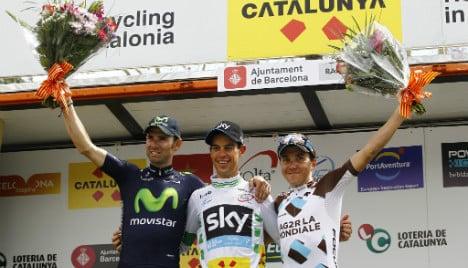 Australia beats Spain in Tour of Catalonia