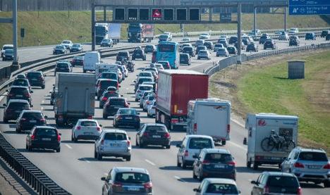Stuttgart worst city for traffic jams