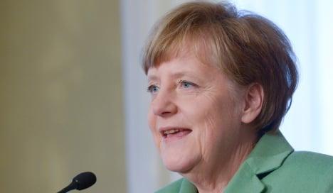 Merkel urges Germans: Give Greece a chance