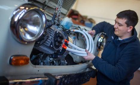 Trabi project aims to electrify 'Ostalgia'
