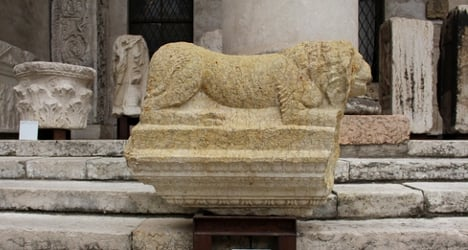 Excavator hid Roman sarcophagi in home
