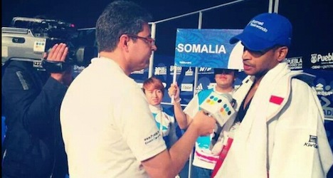 Somali exile in Lausanne seeks Olympic glory