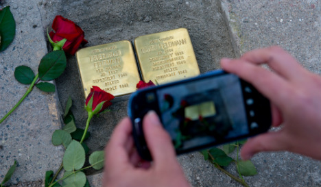 Spain gets first memorial stones to Nazi victims