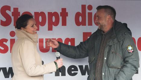 Pegida name Dresden mayoral candidate