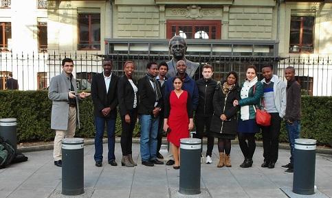NFGL students visit Geneva