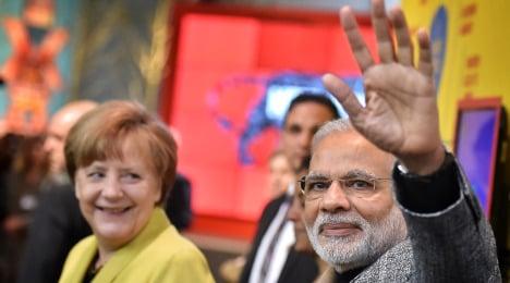 Modi vaunts India at world's biggest trade fair