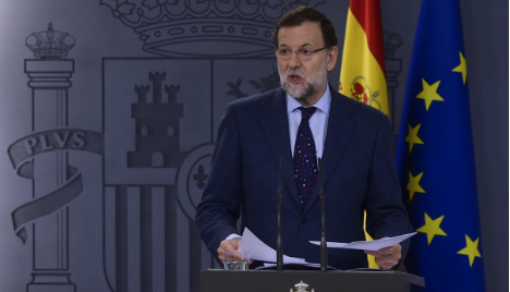Spain's PM Rajoy says he will seek re-election