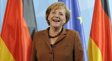 'German persistence' puts Merkel in Time 100